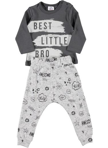 Luggi Baby Pijama Takım Gri